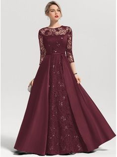 A Line Evening Dress, Chiffon Evening Dresses, A Line Gown, Sexy Dresses, Nice Dresses, Fashion Dresses, Gown Style Dress, Mother Of The Bride Dresses Long, Floor Length Dresses