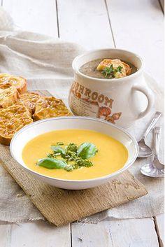 Classic pumpkin soup
