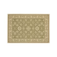 Safavieh Courtyard Oversized Floral Indoor Outdoor Rug, Green