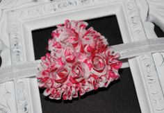 SALE Boutique Baby Girls Valentines Heart by CamdynReeseHeadbands, $6.76