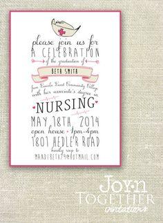 nursing pinning ceremony invitation template Nursing pinning