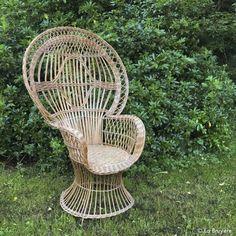 P es 1000 n pad na t ma fauteuil emmanuelle na pinterestu - Repeindre un fauteuil en osier ...