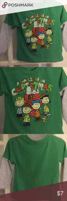 Charlie Brown Christmas Great condition - very soft & comfortable Peanuts Shirts & Tops Tees - Long Sleeve