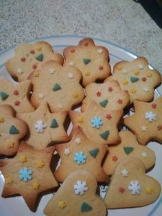 Greek Cake, Biscotti, Gingerbread Cookies, Food And Drink, Sweets, Cooking, Desserts, Christmas, Recipes