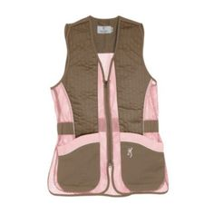 Browning Women's Sporter II Shooting Vest – Hunting Ideas Womens Hunting Gear, Hunting Vest, Hunting Girls, Hunting Clothes, Hunting Stuff, Women Hunting, Camo Stuff, Browning, Boar Hunting