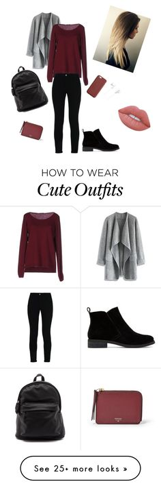 """Daily Outfit ❤️"" by elxnaa on Polyvore featuring Chicwish, Fred Perry, STELLA McCARTNEY, Lucky Brand, FOSSIL, Gucci, Sony and Lime Crime"
