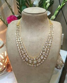 Indian Polki necklace