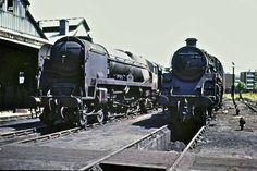Nine Elms Locomotive Shed - Geoff Catlin photos