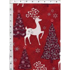"Quilting Treasures ""Celebrate the Season"" Elegant Metallic Christmas Quilt Cotton Fabric. www.americasbestthreads.com"