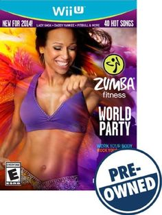 Zumba Fitness World Party - PRE-Owned - Nintendo Wii U