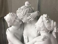 the three Graces Canova art studio Massimo Galleni Marble Carrara white