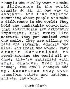 This. Is. Me. I want to make a difference and change the world more than anything. I am part of such a wonderful team. We stand for giving back to the community. Making each life better one at a time. This year we are able to do Scholarships. I love making a difference in peoples life. People brag on me all the time. It's not a job I do it because I love it. And I learned from the most gracious godly woman I will ever know.