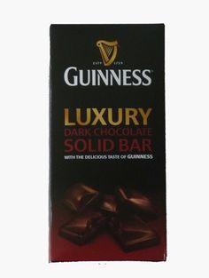 Guinness Luxury Dark Chocolate Solid Bar (90g)