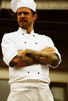 Tattoos For Squares  Chef Tattoo Cook Picture By Nocturntable