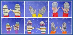 winter art projects for 2nd grade - Google Search