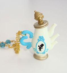 Merry Unbirthday Teapot Necklace