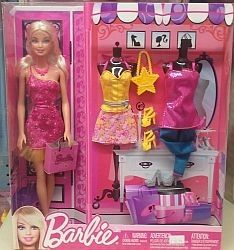 Mattel Barbie and Fashion Set Blonde $19.99