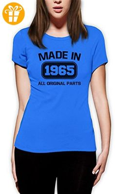 50 Geburtstags-Geschenk aus 1965 Original Frauen Hellblau X-Large T-Shirt (*Partner-Link)