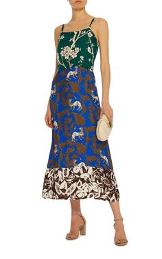 Duquette Printed Cady Dress by WARM Now Available on Moda Operandi
