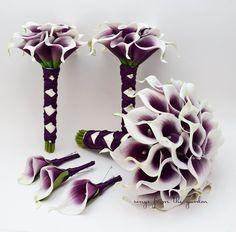 Purple Calla Lily Bouquet – Opiumsymphony.com