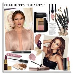 """CELEBRITY ""BEAUTY"" JLo"" by signaturenails-dstanley ❤ liked on Polyvore featuring beauty, Lancôme, DuÅ¡an, Bobbi Brown Cosmetics, Jennifer Lopez, Stila, Dr.Hauschka, Anna Sui, Imju Fiberwig and Chanel"