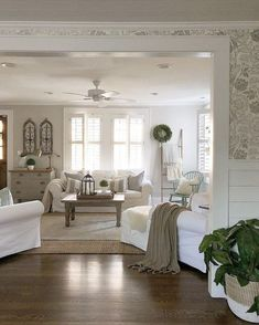 Clean and bright farmhouse style
