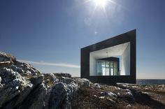 Saunders Architecture-Fogo Island Artists Studios (The Long Studio)