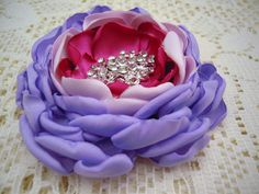 Magnetic Corsage - Fabric Flower Pin - Brooch Pin - Pinless Brooch - Magnetic Jewelry  - Flower Pin - Beauty Queen Brooch - Magnetic Pin by OtherCuteStuff on Etsy