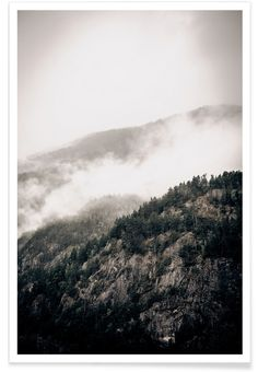 Misty Mountains - Christoph Abatzis - Premium Poster