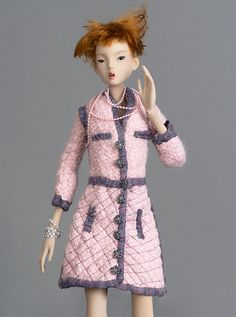 Chanel | MODOLL Project | fashions reproduced in scale by AY Collective from the AW2015 collections