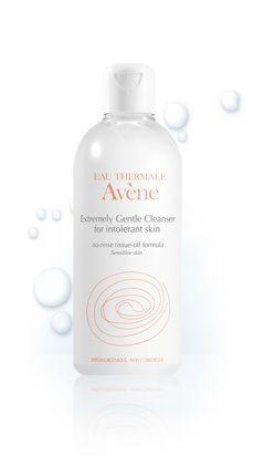 Extremely Gentle Cleanser for Intolerant Skin - Avène - Oil free and great for getting makeup off $22
