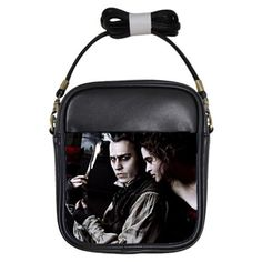 Sweeney Todd  Mini Cross Body Bag Free U.S. by Totalchaosbootique, $25.00