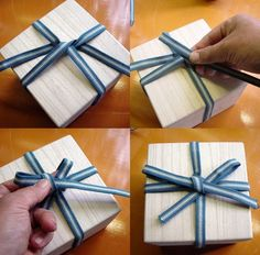 Mashiko Potter In Minnesota Gift Wrapping Bows, Creative Gift Wrapping, Wrapping Ideas, Japanese Design, Japanese Art, Slab Pottery, Pottery Clay, Japanese Packaging, Sculpture Clay