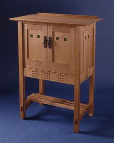 custom Arts and Crafts furniture|luxury furniture|audio sideboard