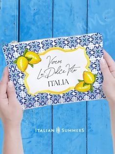#Italy.... delivered to you.