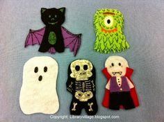 Library Village: Flannel Friday - Halloween Surprise!