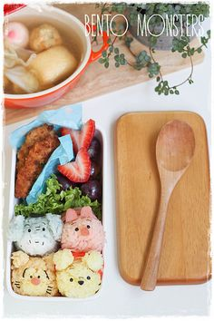 The Most Adorable Edible Winnie the Pooh You've Ever Seen by Bento, Monsters