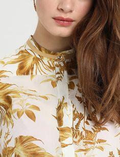 Palm leaf shirt - Mos Mosh