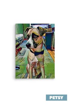 Custom Pet Art by Petsy Gifts For Pet Lovers, Pet Gifts, Dog Lovers, Custom Dog Portraits, Pet Portraits, Your Pet, Artists, Canvas, Detail