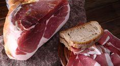 Prosciutto San Daniele DOP, Italian Ham from Friuli Italian Ham, Italian Recipes, Prosciutto, Deli, Sausage, Sandwiches, Msc Cruises, Pork, Gourmet