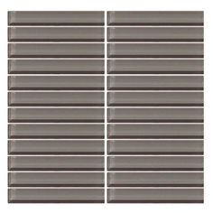 Kitchen Backsplash: Daltile CW09 3x6 Brick Jointed (image for color only)
