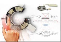 Future technology Concept USB Drive