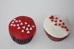 Valentine's Day Cupcakes - Fondant
