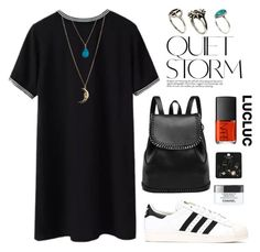 """""""LUCLUC 9"""" by katerina-rampota ❤ liked on Polyvore featuring adidas, NARS Cosmetics, Miss Selfridge, Topshop, ASOS, Chanel, polyvoreblogger, polyvoreconvention2014, PolyvoreMostStylish and lucluc"""