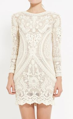 Isabel Marant Ivory Dress// gorgeous//