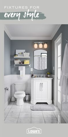 Shop For Bathroom Vanities, Showers, Bathtubs, Toilets, Bathroom Cabinets  And More At Loweu0027s. Find Great Bathroom Ideas And Bathroom Designs At Loweu0027s .