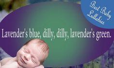 Lavender's Blue Cinderella Songs To Put A Baby To Sleep Lyrics-Baby Lull...