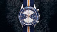 New Tudor Heritage Chrono Blue