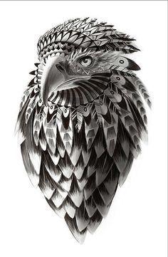 Ilustración de arte de American Eagle de por ArtBySassanFilsoof