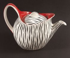 Very hard to find Midwinter Zambesi Teapot designed by Jessie Tait. This has been in my collection for the past 10 years and I have reluctantly decided to part with it. Condition: No chips, cracks or repairs. | eBay!